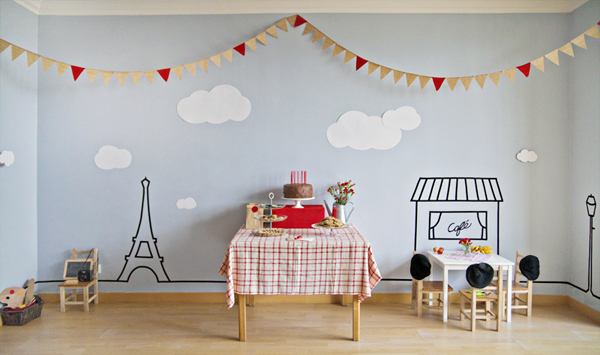 The Red Balloon birthday party | Lavender's Blue Designs